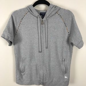 Burberry Golf Short Sleeve Jacket with hood